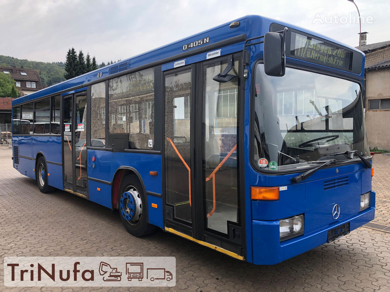 MERCEDES-BENZ O 405 N K F   Länge: 10,5 m   Höhe 2,71 m   Euro 4   city bus