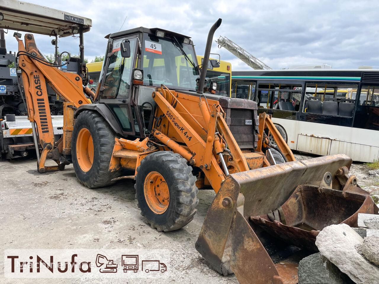 CASE 580 K Turbo | 4 x 4 |  backhoe loader